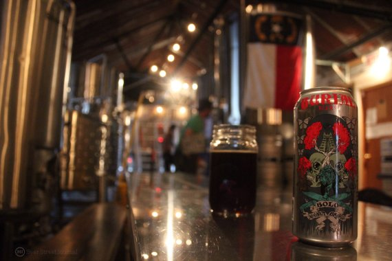 Burial Bolo Brown Ale cans