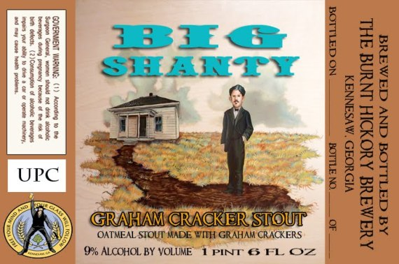Burnt Hickory Big Shanty Graham Cracker Stout