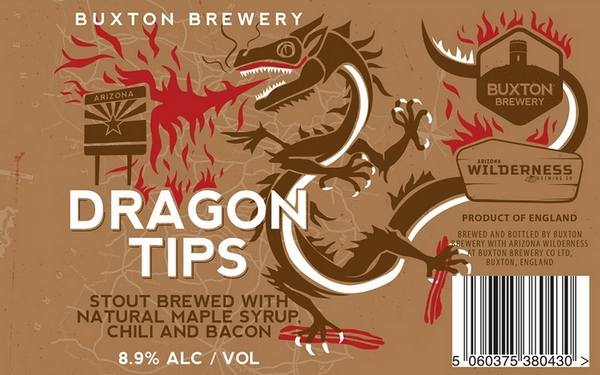 Buxton Brewery Dragon Tips