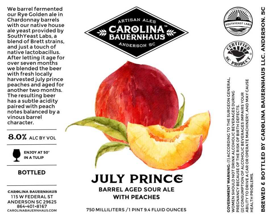 Carolina Bauernhaus July Prince