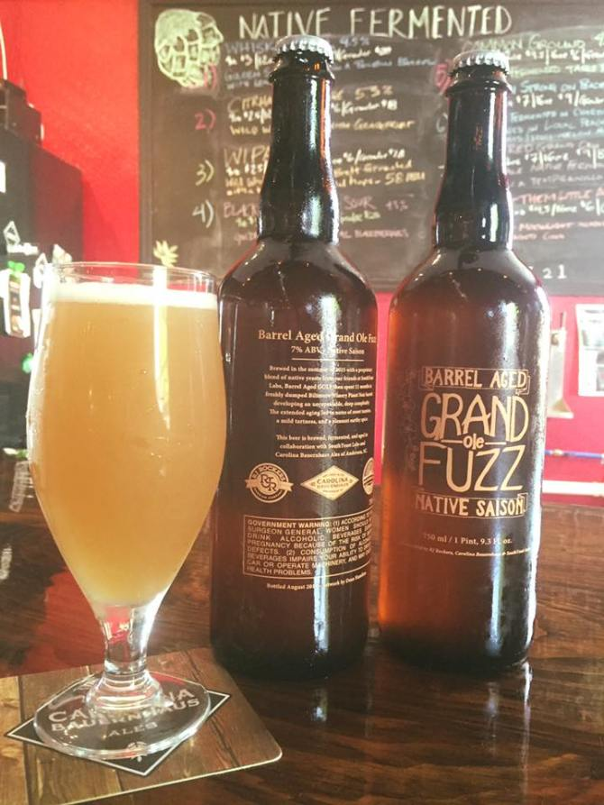 Carolina Bauernhaus Barrel Aged Grand Ole Fuzz