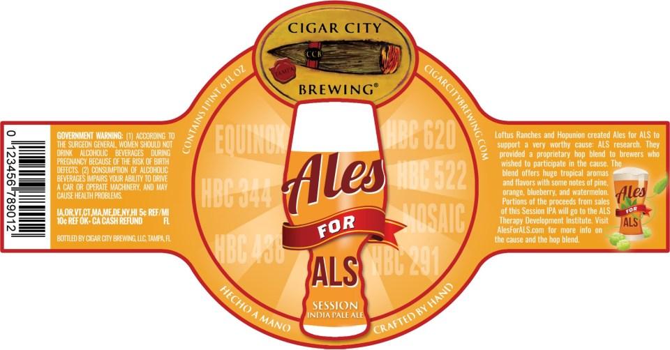 Cigar City Ales for ALS