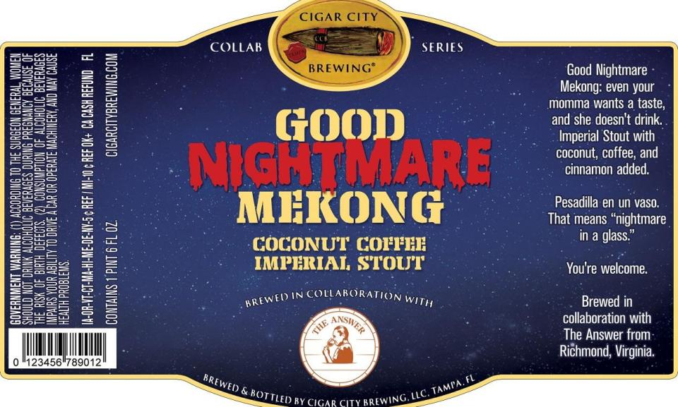 Cigar City Good Nightmare Mekong