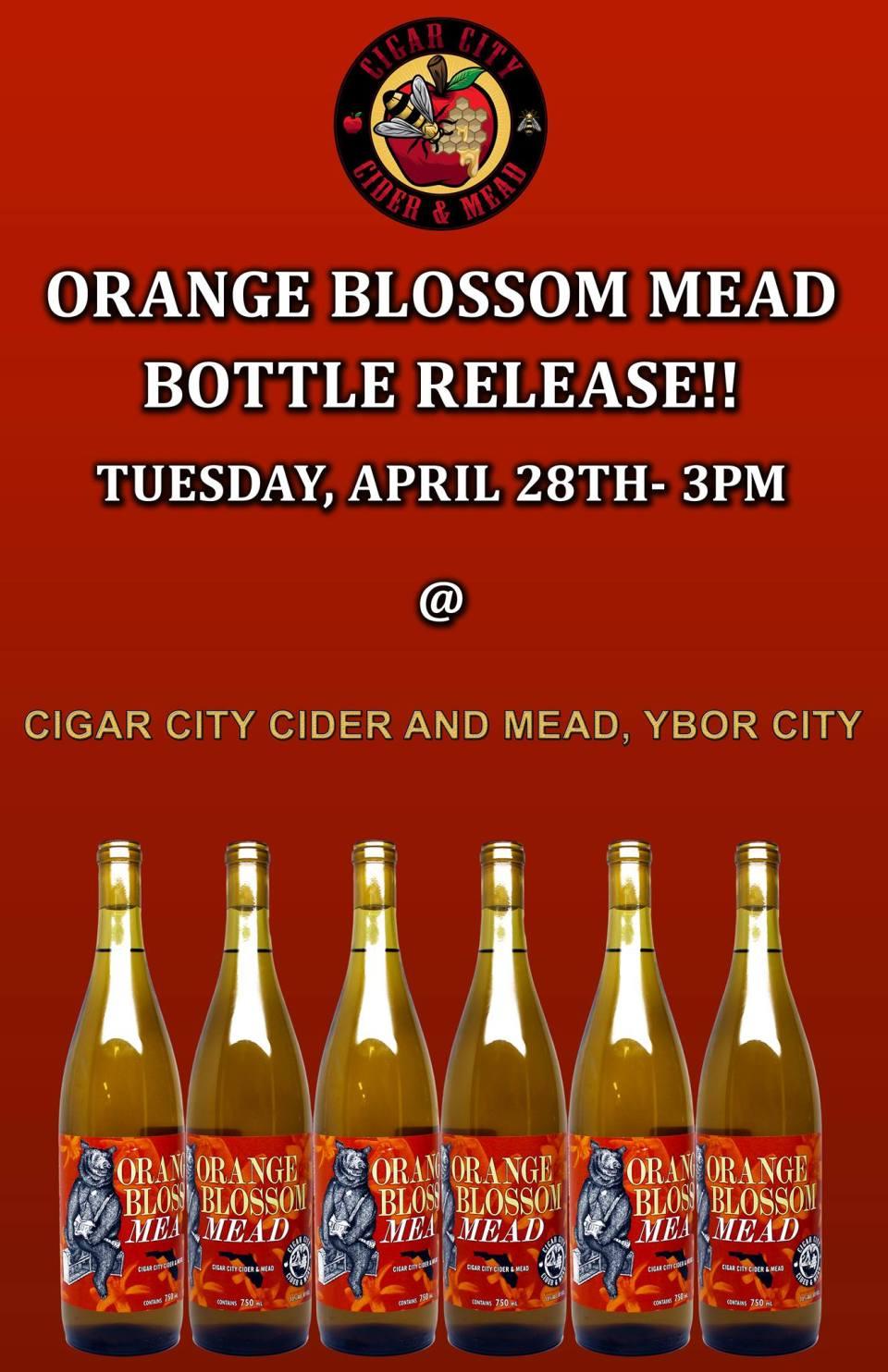 Cigar City Orange Blossom Mead