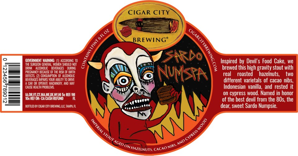 Cigar City Sardo Numspa