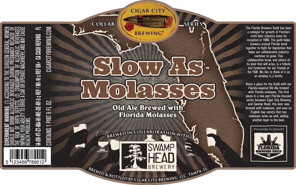 Cigar City Slow As Molasses