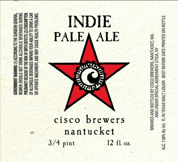 Cisco Brewers Indie Pale Ale