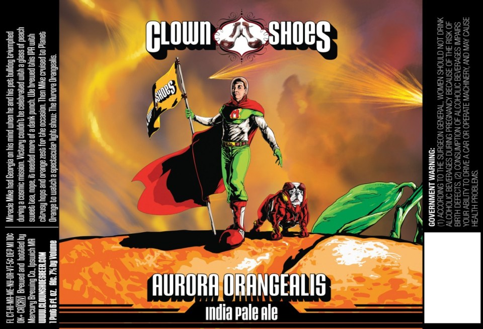 Clown Shoes Aurora Orangealis