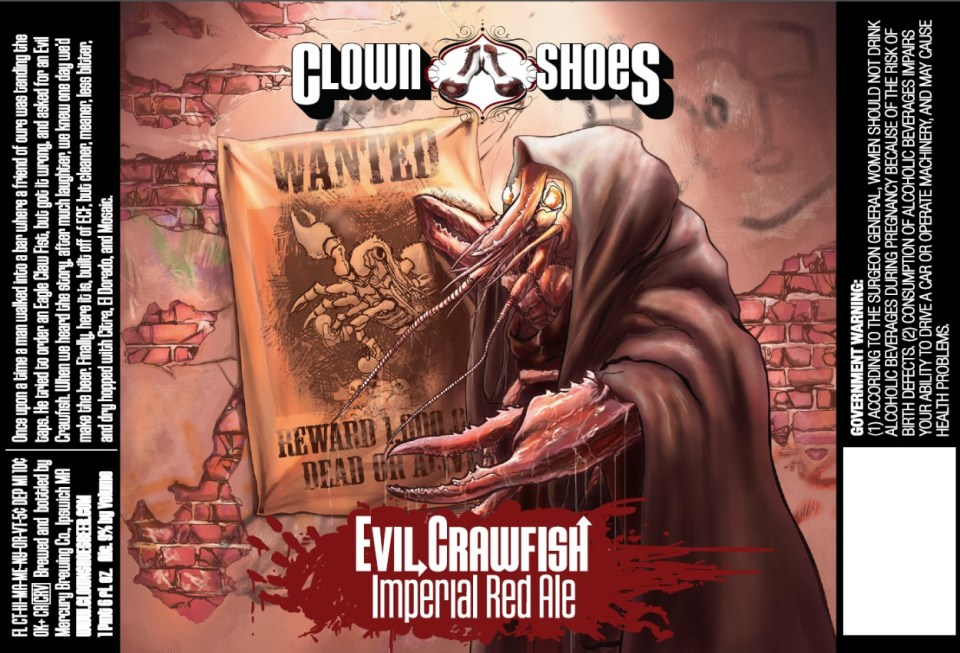Clown Shoes Evil Crawfish