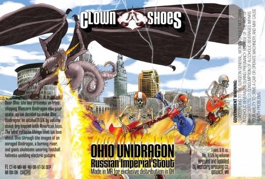 Clown Shoes Ohio Unidragon