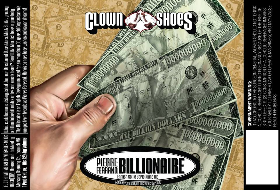 Clown Shoes Pierre Ferrand Billionare