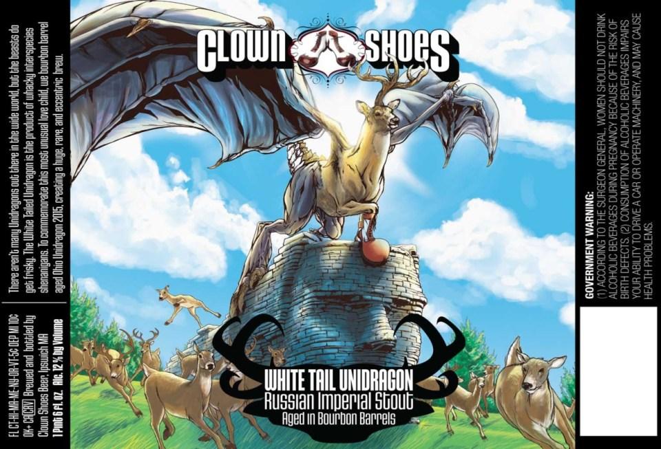 Clown Shoes White Tail Unidragon