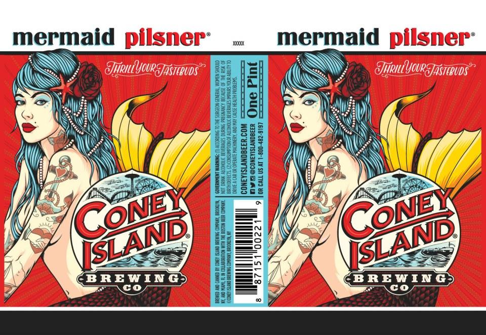 Coney Island Mermaid Pilsner