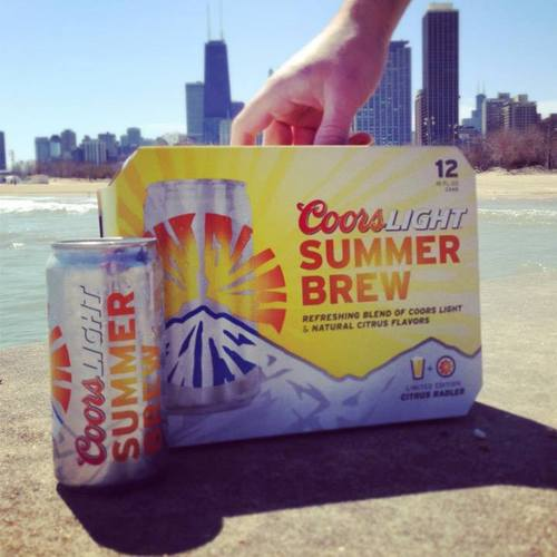 Miller Announces Launch Of Coors Light Summer Brew