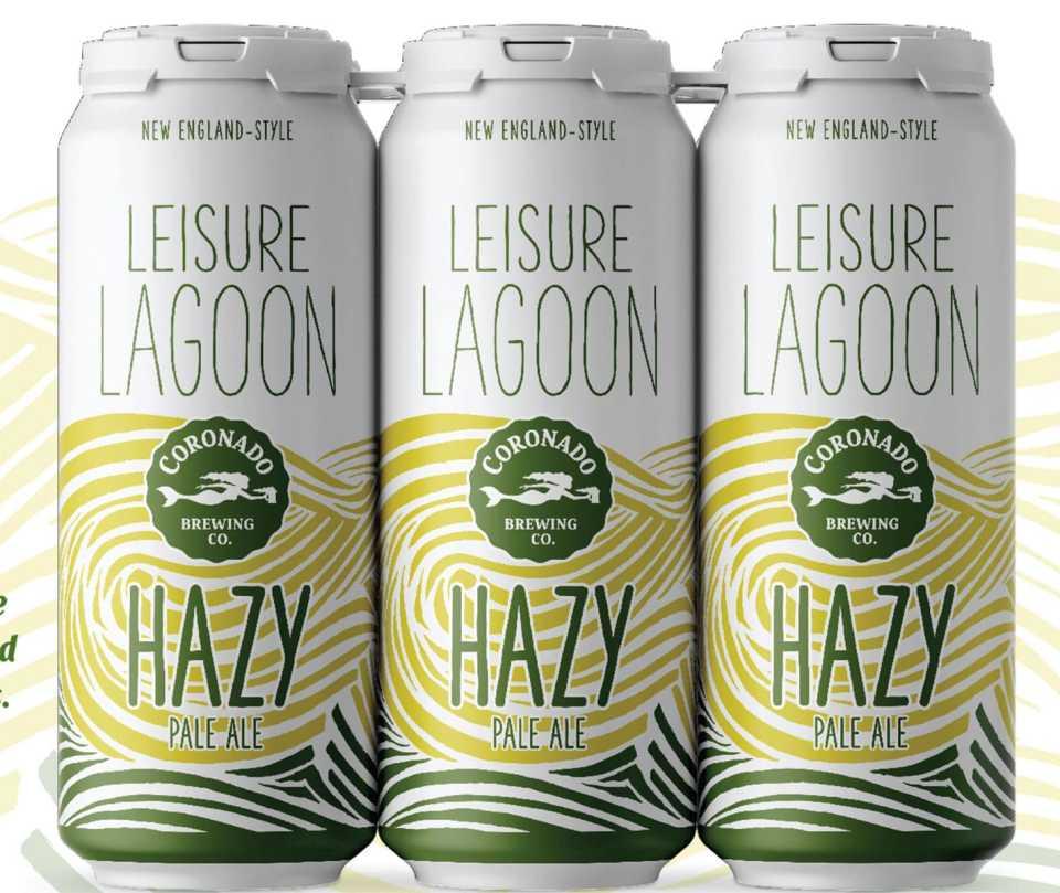 Coronado Leisure Lagoon Hazy Pale Ale