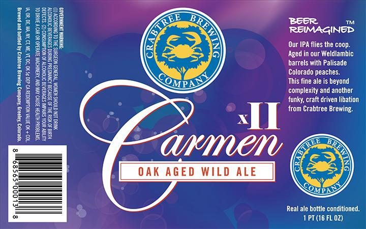 Crabtree Brewing Carmen 2.0 Wild Ale