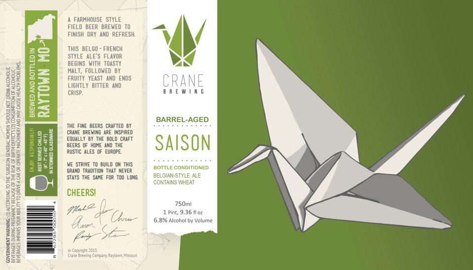 Crane Brewing Barrel-Aged Saison