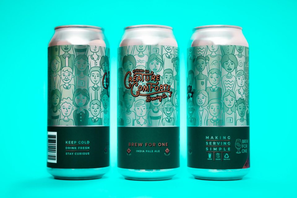 Creature Comforts Brewed For One 2021