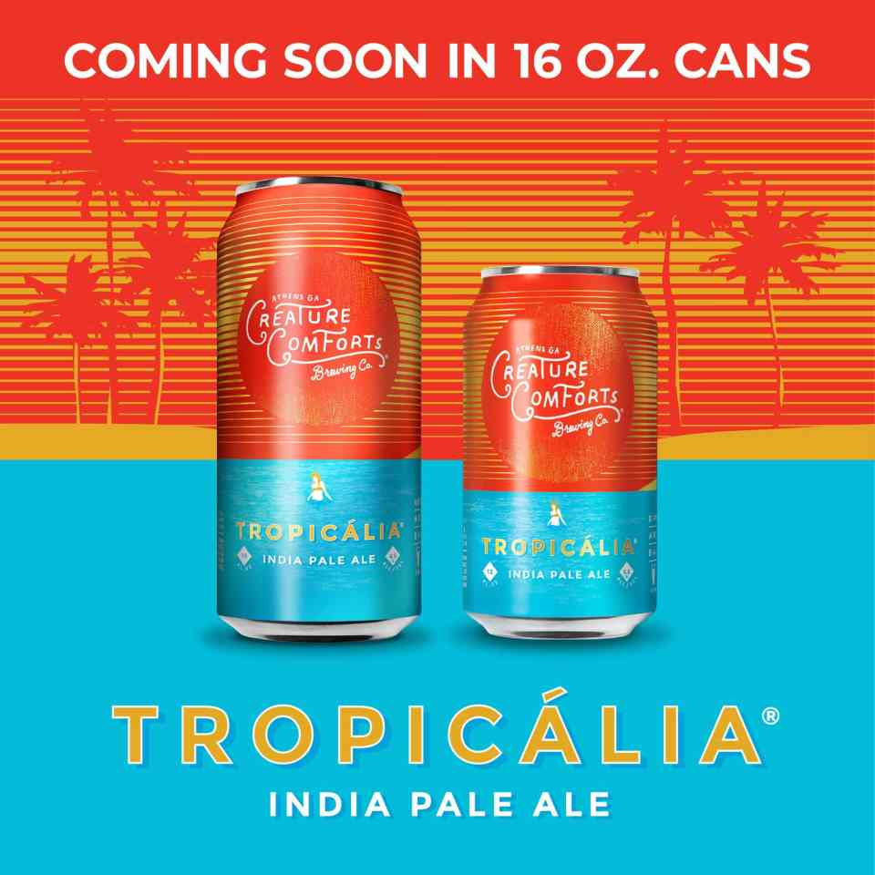 Creature Comforts Tropicalia 16oz Cans