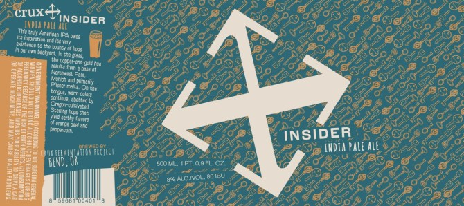 Crux Fermentation Project Insider India Pale Ale