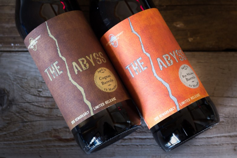 Deschutes Barrel Aged Abyss bottles