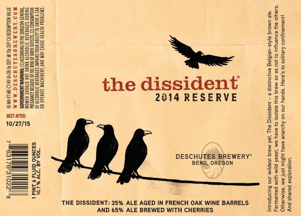 Deschutes The Dissident 2014