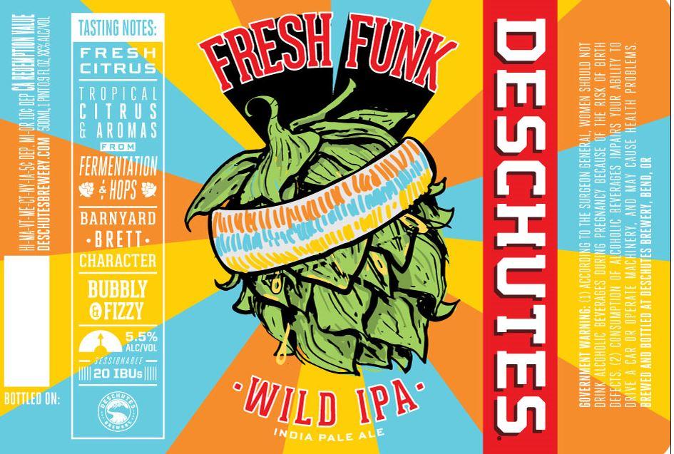 Deschutes Fresh Funk Wild IPA