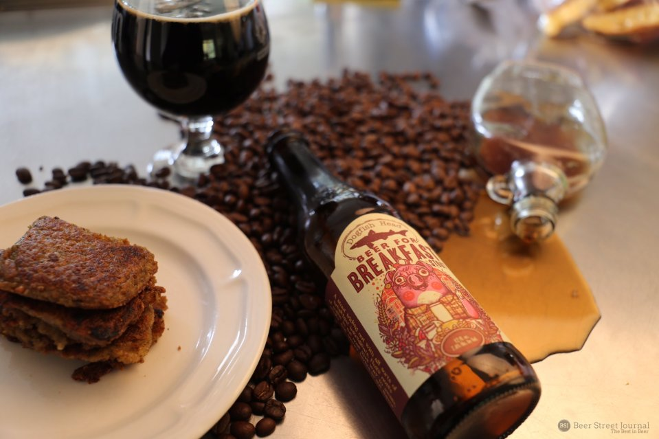 Dogfish Head Beer For Breakfast bottle