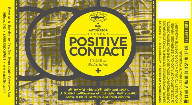 Dogfish Head Positive Contact