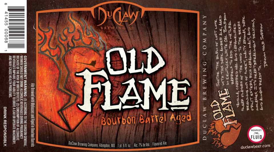 DuClaw Barrel Aged Old Flame