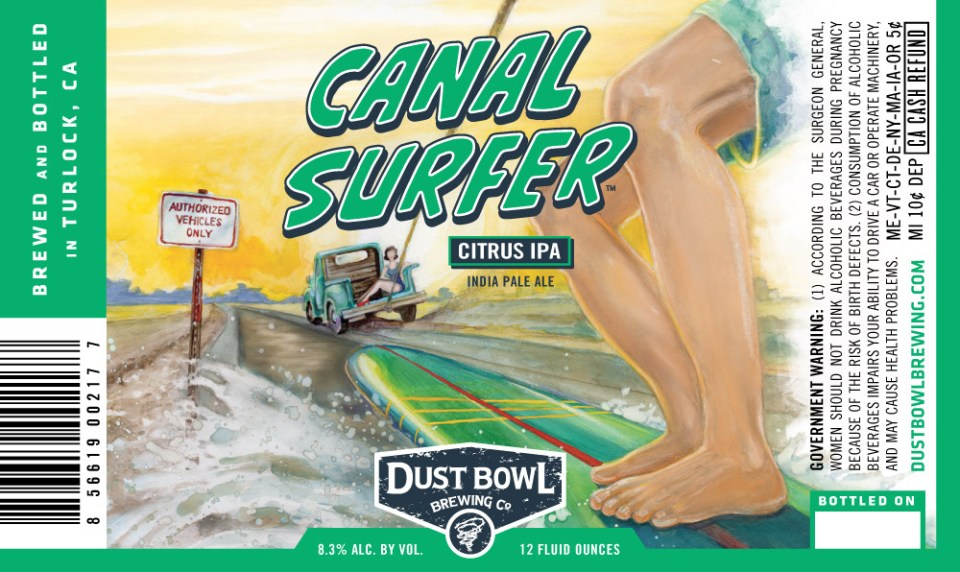 Dust Bowl Canal Surfer