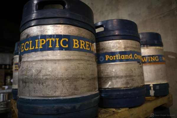 Ecliptic Brewing Kegs BSJ