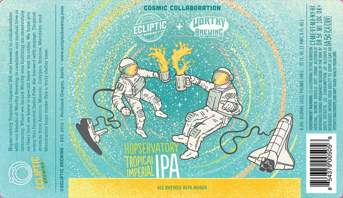 Ecliptic Hopservatory Tropical Imperial IPA