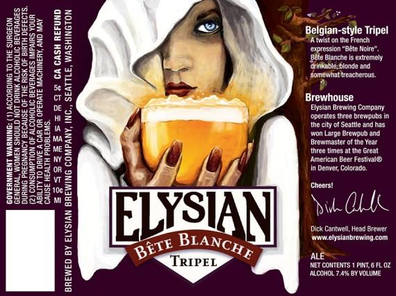Elysian Bette Blanche Tripel