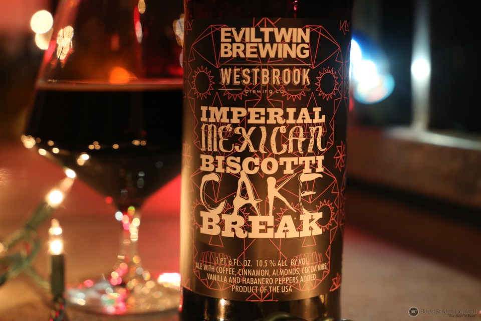 Evil Twin Imperial Mexican Biscotti Cake Break bottle