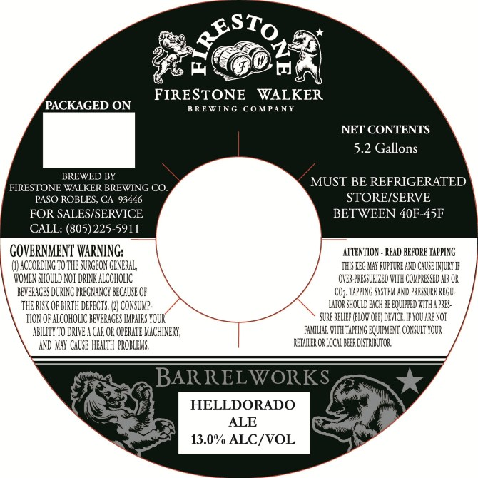 Firestone Walker Barrelworks Helldorado