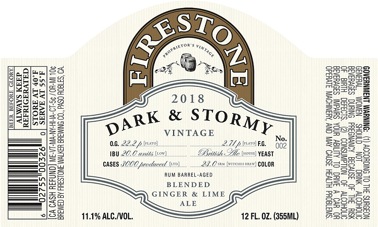 Firestone Walker Dark & Stormy