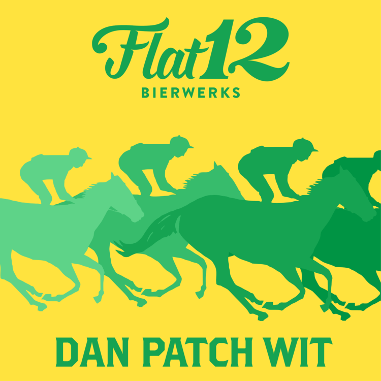 Flat 12 Dan Patch Wit