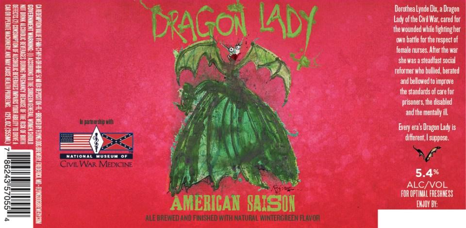 Flying Dog Dragon Lady