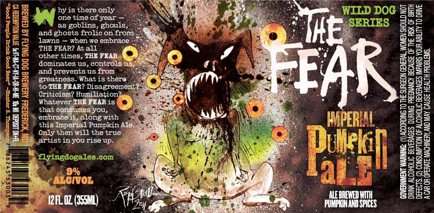 """Képtalálat a következőre: """"The Fear – Flying Dog Brewery"""""""