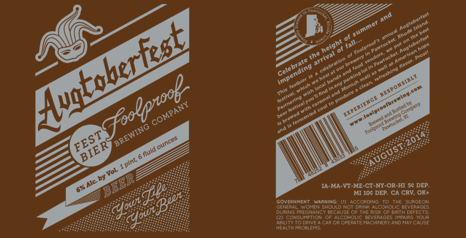 Foolproof Breiwng Augtoberfest