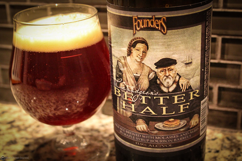 Founders Curmudgeon's Better-Half bottles