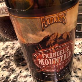Founders Frangelic Mountain Brown combined flavors of hazelnut coffee with brown ale. As of December, 2014 it was holding up quite well. 9%