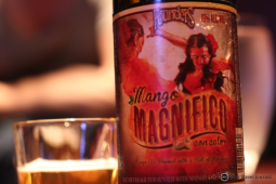 Let's get weird. Founders Mango Magnifico con Calor certainly did. The high gravity fruit beer featured tropical mangos, and Michigan grown habaneros. 10% ABV