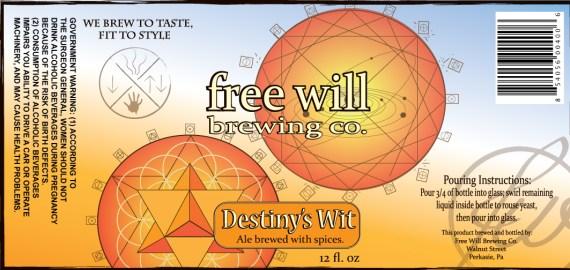 Free Will Brewing Destiny's Wit