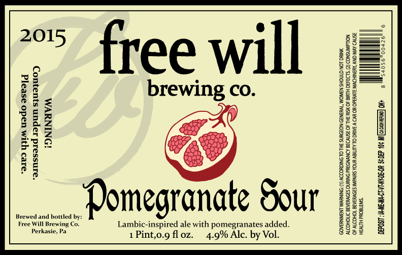 Free Will Pomegranate Sour
