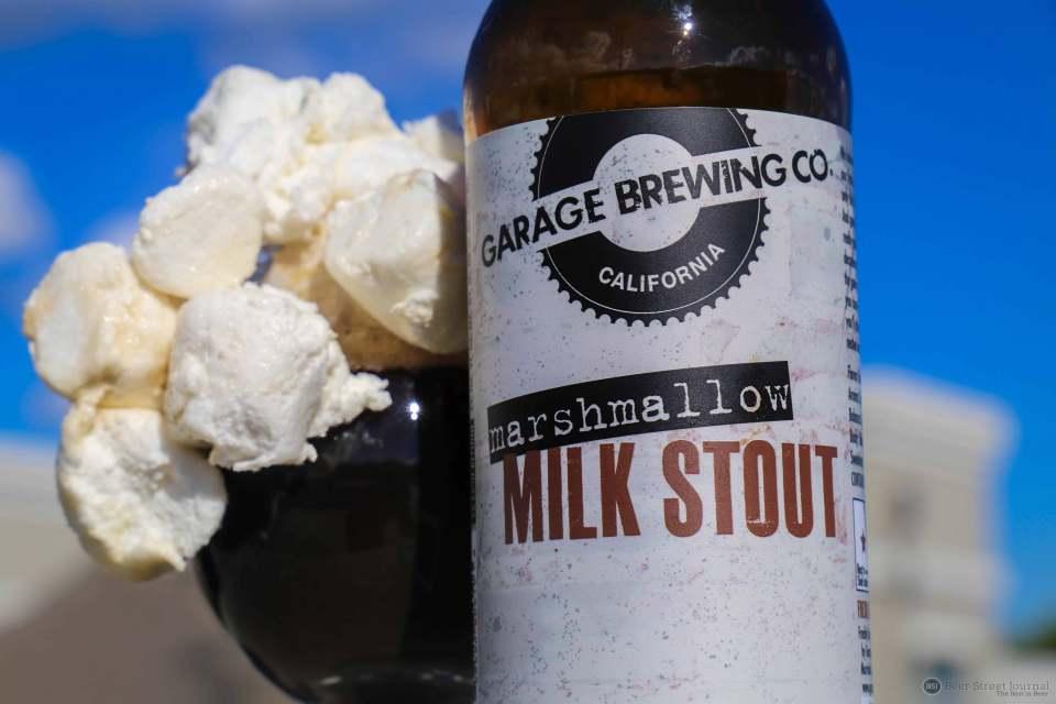 Garage Brewing Marshmallow Milk Stout Bottle