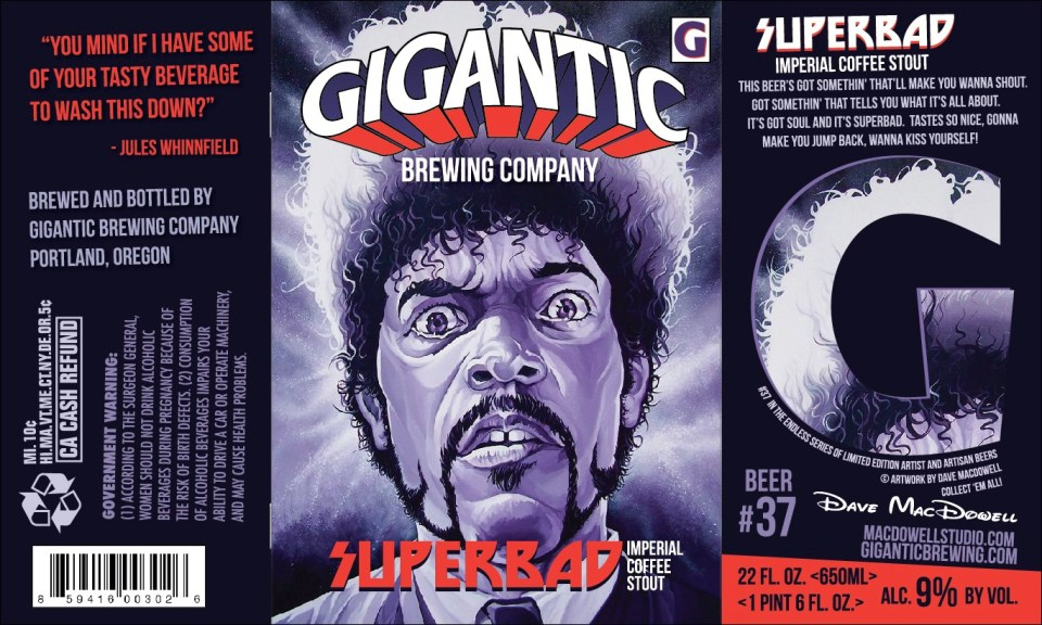 Gigantic Brewing Superbad