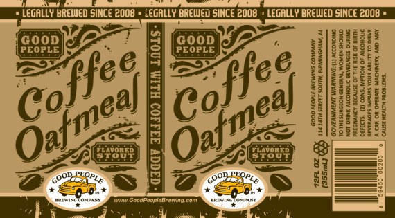 Good People Coffee Oatmeal Stout