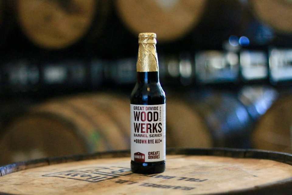 Great Divide Wood Werks Barrel Aged Brown Rye Ale
